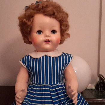 All original 1950s hard plastic Pedigree doll