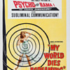 """SUBLIMINAL SHOCKER--""""MY WORLD DIES SCREAMING""""1958..Did They Brainwash For An Instant??"""