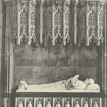 ARCHBISHOP THOMSON'S MONUMENT. YORK MINSTER - Postcards