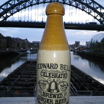 EDWARD BELL GINGER BEER NEWCASTLE