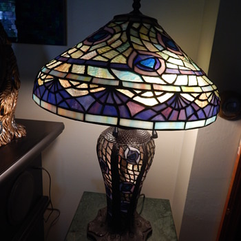 peacock type lamp