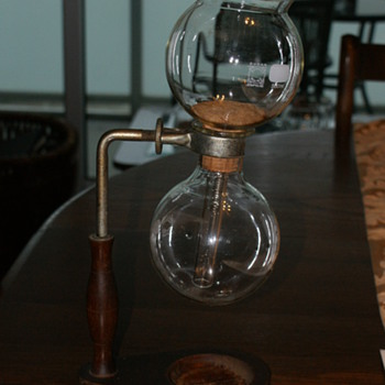 Antique Vacuum Coffee Maker - Glassware
