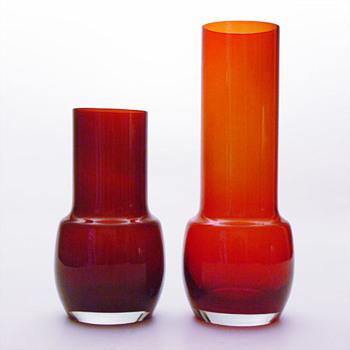 Vase, Tamara Aladin (Riihimäki Lasi Oy, ca. 1975) - Art Glass