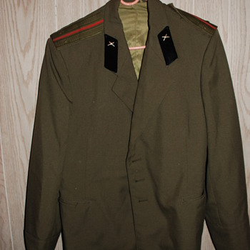 Military Jacket, Unk. county or year??