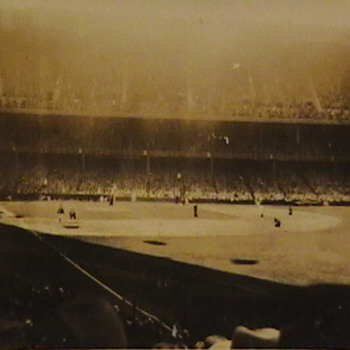 Original Photo Babe Ruth at Bat