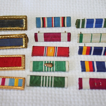 Military Ribbons - Military and Wartime