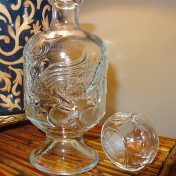 Unidentified Glass Dragon Decanter - Asian