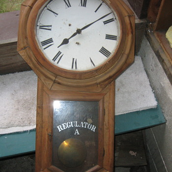 Brarn fresh Regulator A clock... - Clocks