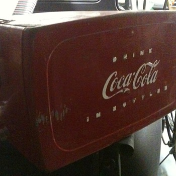 My new coke cooler - Coca-Cola
