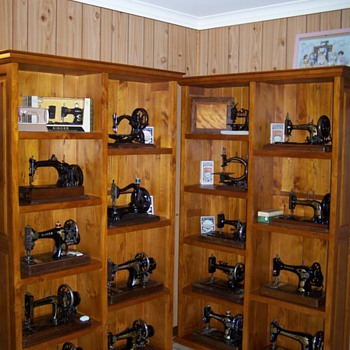 My antique sewing machines (some of them)