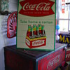 1959...Coca-Cola Sidewalk Six Pack Regular Size...Take Home A Carton...Sign Of Good Taste