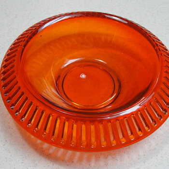 Ribbon candy or flower bowl