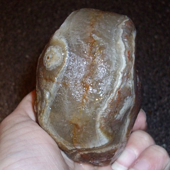 Large Agate, found near my house.