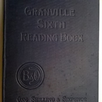 Thrift Shop Find > Publisher Specimen Book > Granville Sixth Reading Book Publishers Burns & Oates London