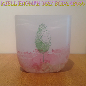 KJELL ENGMAN for KOSTA - 48636 'MAY' - 1986. - Art Glass