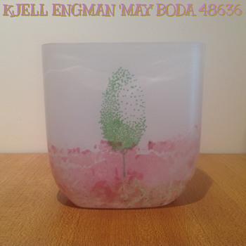 KJELL ENGMAN for KOSTA - 48636 'MAY' - 1986.