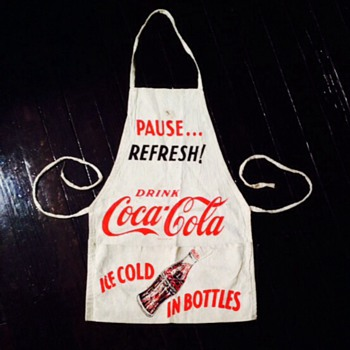 1950's Coca Cola Apron II. - Coca-Cola