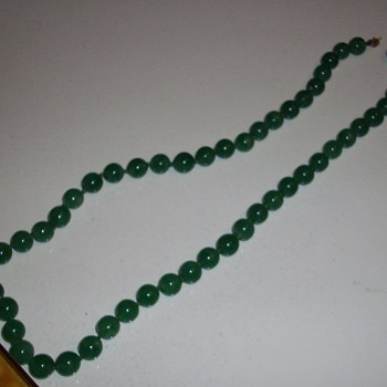 Jade or not Jade that is the question? - Costume Jewelry