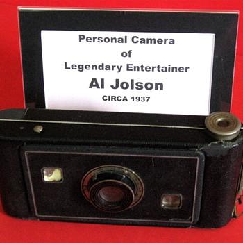 Al Jolson's Personal Camera
