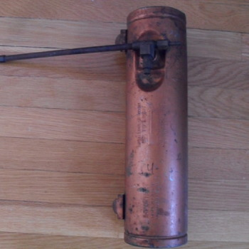 Old fuel tank. - Tools and Hardware