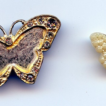Butterfly Broach - Costume Jewelry