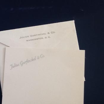 Julius Garfinkel Gift card