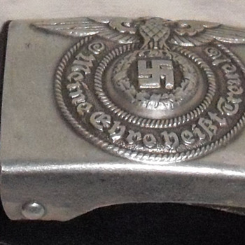 WWII SS buckle - Military and Wartime