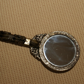 Antique Hand Mirror  - Accessories