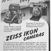 1951 - Zeiss-Ikon Cameras Advertisement