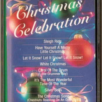 """Christmas Celebration"" - Cassette Tape"