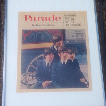 THE BEATLES HOW LONG WILL THEY LAST PARADE  MAGAZINE  1964 - Music