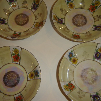 Czech made Finger Bowls - China and Dinnerware