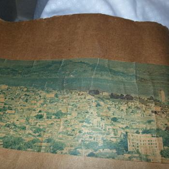 "Old Photo of San Francisco?? 10"" x 37""?"
