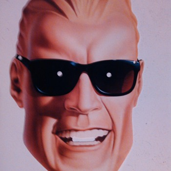 80,s Coke Max Headroom Mask - Coca-Cola