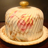 Adderley?  Porcelan Covered Cheese Dish-Unknown-