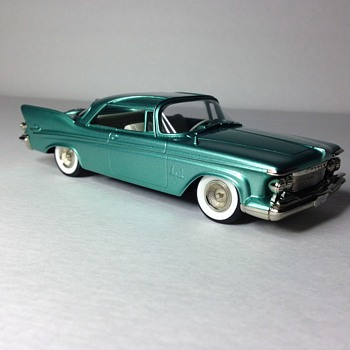 1961 Imperial Southampton Customs Coupe Handmade White Metal Replica - Model Cars