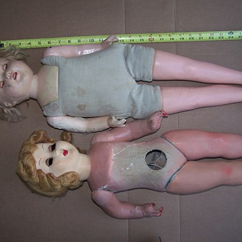 Old vintage dolls any help would be great - Dolls