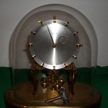 Kieninger & Obergfell Kundo Oval Anniversary Clock. - Clocks