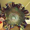 2 Fenton Carnival Glass Pieces.... HELP