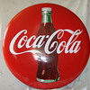  48 &quot; Coca Cola Porcelain Button Sign