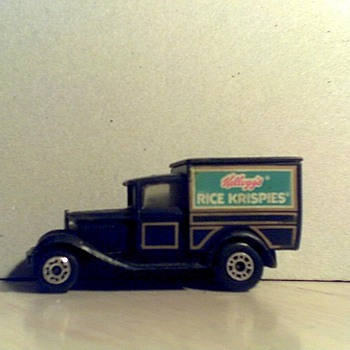 Model &#039;A&#039; Fords, Rice Krispies and Taxi