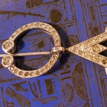 Edwardian Sash or Collar Pin - Victorian Era