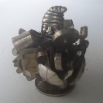 Bolivian silver figure (weird)