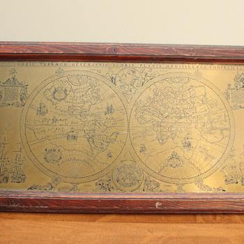 Brass and Wood Map? - Paper