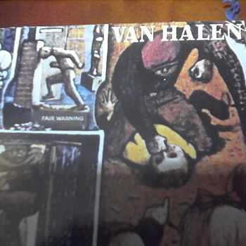 "Van Halen ""Fair Warning"" - Records"