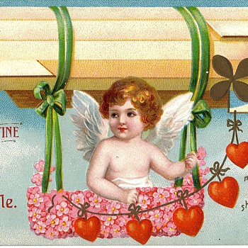 Airship Valentine Card - Postcards