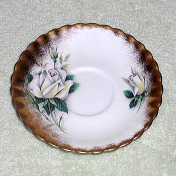 """Royal Albert"" Bone China Saucer"