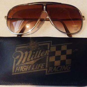 Vintage Miller High Life Racing Sun Glasses