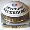 Louisiana Superdome decanter by Jim Beam