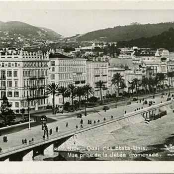 Nice, France...pre-War Snapshots - Photographs